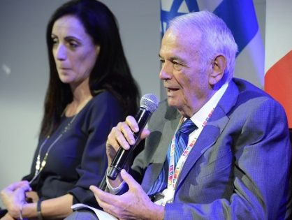 Dr. Shimon Eckhouse participated in Israel 70th celebrations in Paris